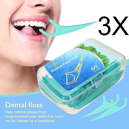 LuckyFine Dental Floss para interdental Oral Limpieza