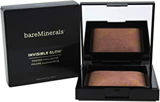 BareMinerals Invisible Glow Powder Highlighter - Medium for Women - 0.24 oz