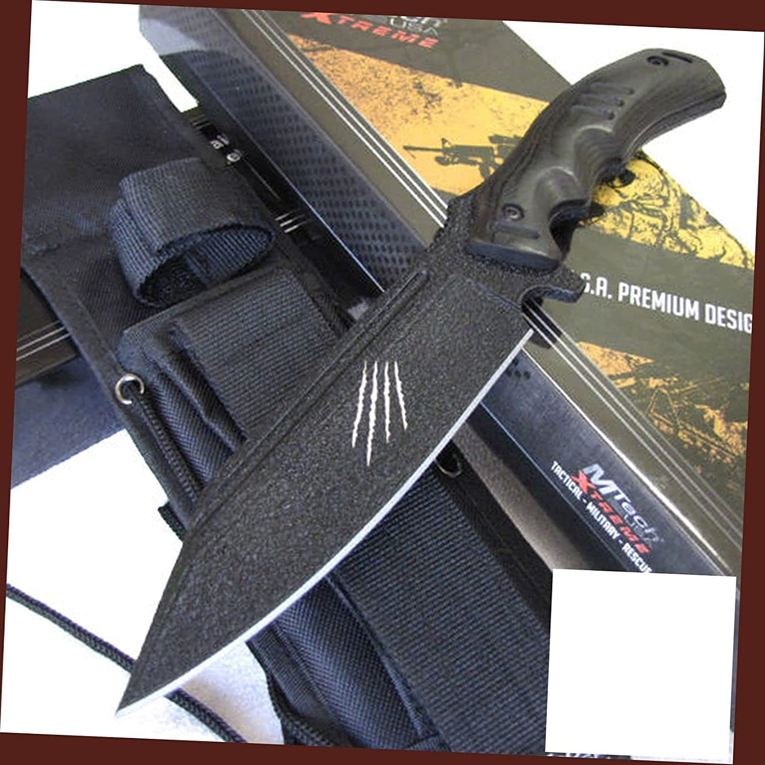 M-Tech Ranking TOP11 Xtreme 8143 Raptor Tactical 5% OFF Full Fix Stainless Steel Tang