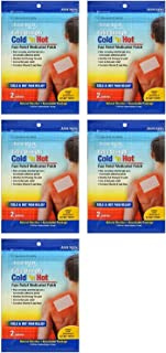 Extra Strength Cold 'n Hot Pain Relief Therapeutic Medicated Patches, 5-pk (10 patches)
