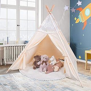 besrey Tiendas de campaña niños Tipi Infantil Grande, Tela