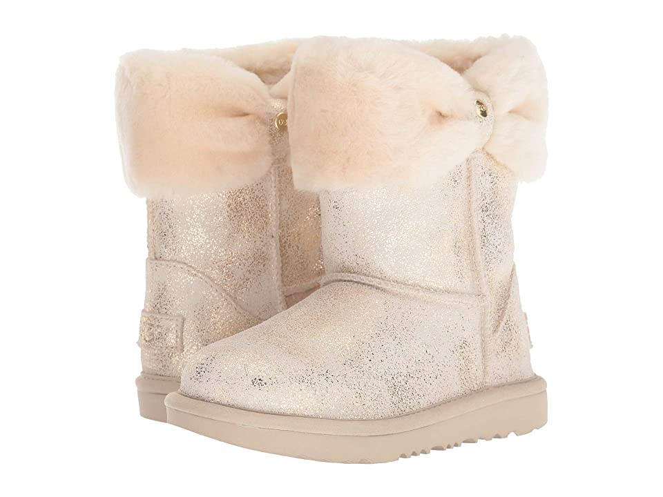 UGG Kids Ramona Classic II Metallic (Little Kid/Big Kid) (Gold) Girls Shoes