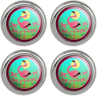 DIY Wooden buttons Flamingo Sewing scrapbooking clothing Handicrafts 35mm