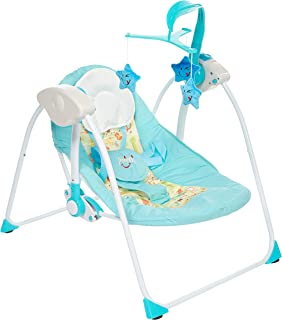 baby plus BP7740 Foldable and Multifunctional Stroller, Blue