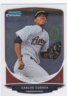 2013 BOWMAN CHROME CARLOS CORREA ROOKIE CARD #100 ASTROS
