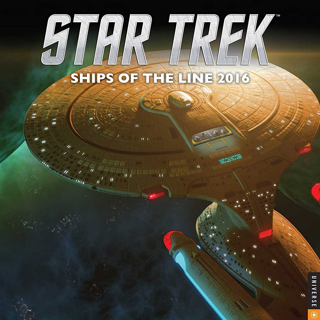 物理的に深くチョップStar Trek 2016 Wall Calendar: Ships of the LIne