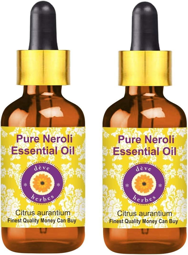 Deve Herbes Pure Neroli Essential Oil (Citrus aurantium) with Gl