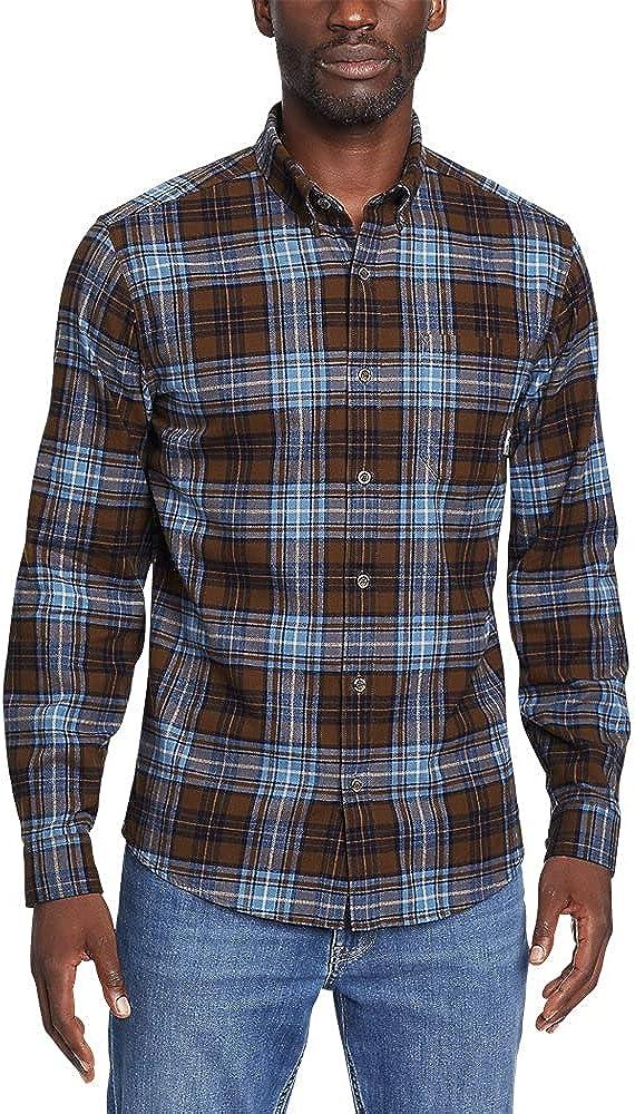 Eddie Bauer Men's Eddie's Favorite Flannel Shirt - Slim