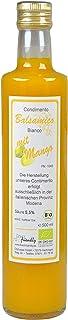 direct&friendly Bio Mango Essig, Condimento Balsamico mit fruchtiger Mango in der 500ml Flasche