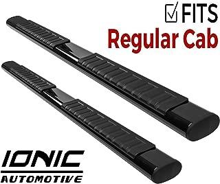 Ionic Voyager Plus Black Running Boards 2015-2018 Dodge Ram Regular Cab