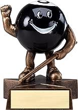 Decade Awards 8 Ball Lil' Buddy Trophy - Kids Pool Award - 4 Inch Tall - Customize Now