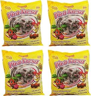 Delicious Sweet Treats Vero Pica Fresa 4 Bags of 100ct - Tj