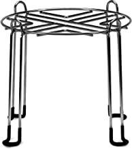 "Water Filter Stand 8"" Tall by 9"" Wide Compatible with Berkey, Countertop Steel Stand for Most Medium Gravity Fed Water Coolers - Quality Stainless Steel - Fills Glasses, Pitchers, & Water, Heavy Duty"