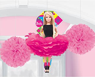 Fluffy Decorations | Barbie Sparkle Collection | Party Accessory