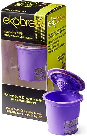 Ekobrew Classic Reusable Filter,  Keurig 1.0 and 2.0 Compatible - Violet