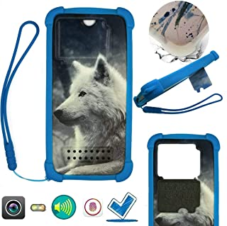 Case For Tecno Pop 3 Plus Case Silicone border + PC hard backplane Stand Cover LANG