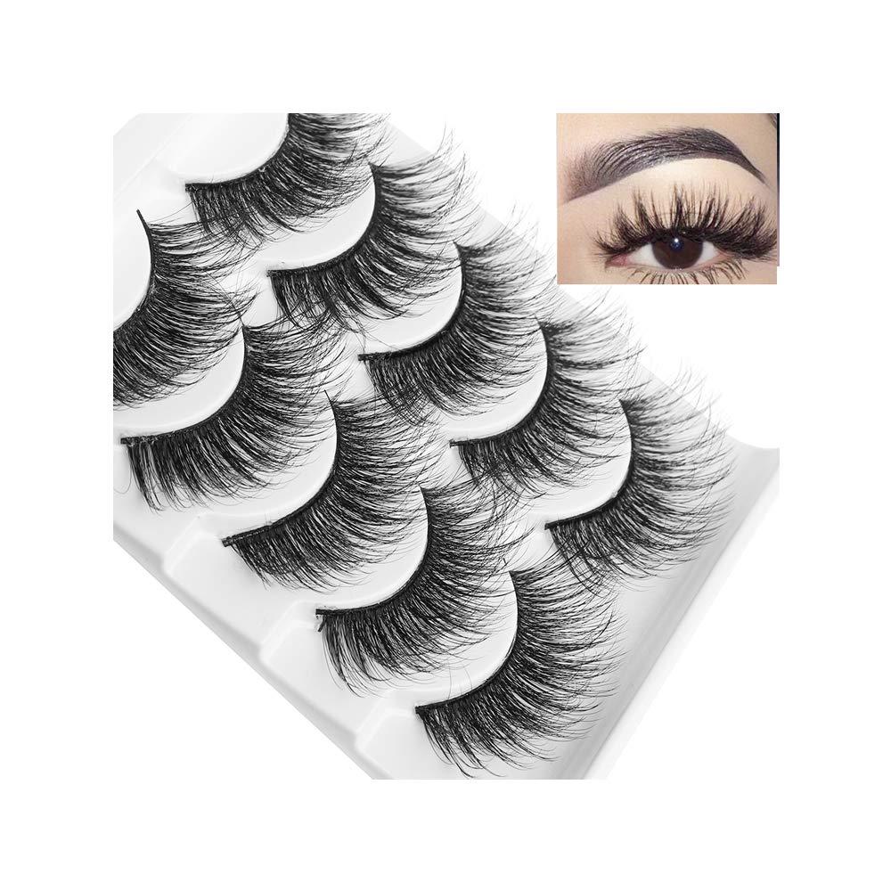 3D Soft Mink False Eyelashes Fluffy Thick Max 2021 52% OFF Full Lashes Wispy Eye