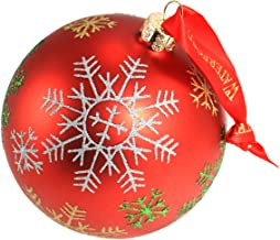 Waterford Holiday Heirloom Snowflake Ball Ornament