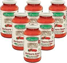 La San Marzano Marinara Sauce 24 oz. (Pack of 6) - 100% Product of Italy