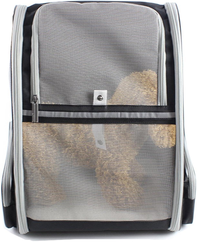 Aqi7 Pet Backpack Out Portable Dog Bag, Mesh Breathable Travel Cat Bag Pet Carrier