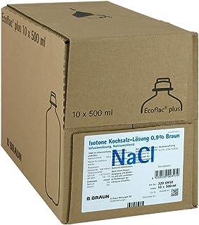 Solución salina isotónica de B. Braun, 0,9%, Ecoflac plus