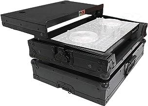 ProX X-DDJSB3 LTBL Flight Case for Pioneer DDJ-SB3 & DDJ-400 Digital Controller With Sliding Laptop Shelf - Black on Black...