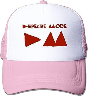 Cyska Unisex-Adult Two-Toned Cap Hats Depeche Mode Logo Summer Caps Hat Black