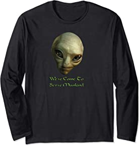 Funny Alien Long sleeve