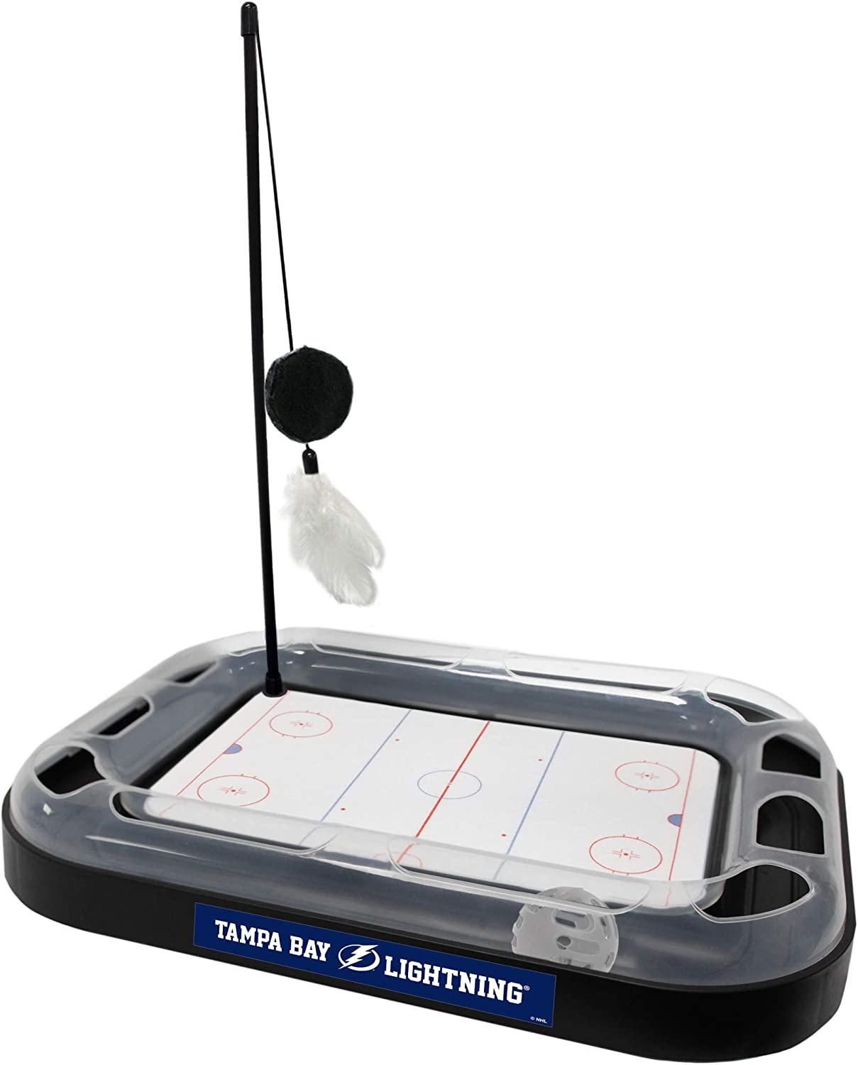 Pets First Cat Scratching Max 84% OFF Toy Hockey Scratcher 67% OFF of fixed price NHL Field