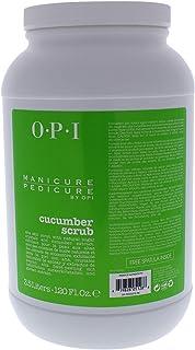 OPI OPI Manicure Pedicure Cucumber Scrub for Unisex 120 oz Scrub, 3.5 L