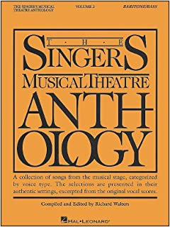 The Singer's Musical Theatre Anthology - Volume 2: Baritone/Bass Book Only (Piano-Vocal Series)