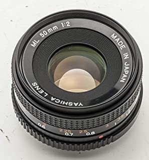 Yashica Lens ML 50 mm 50mm 2 1:2 Contax Analog