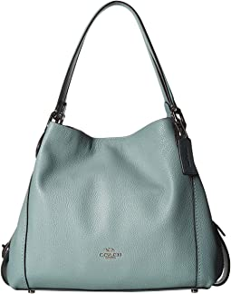 Pebbled Leather Edie 31 Shoulder Bag