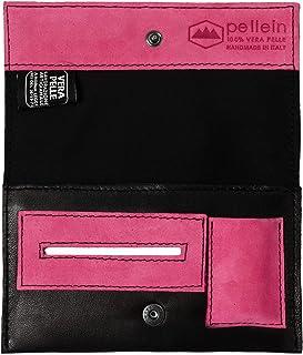 Pellein - Portatabacco in vera pelle Class - Astuccio porta tabacco, porta filtri, porta cartine e porta accendino. Handma...