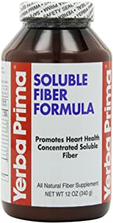 Yerba Prima Soluble Fiber Formula Powder, 12-Ounce by Yerba