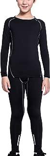 EU Boys Sports Long Sleeve Compression Shirts Pants Set Quick Dry Base Layer
