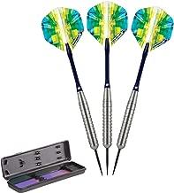 Elkadart Prism Steel Tip Darts with Storage/Travel Case