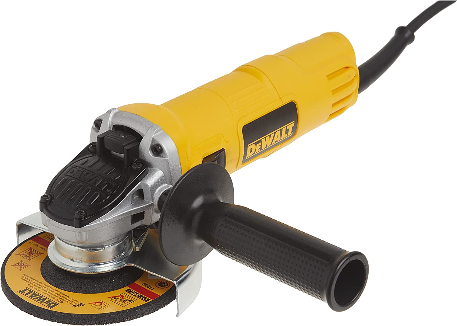 Dewalt Angle Grinder, One-Touch Guard, 4-1/2 -Inch (Dwe4011) , Yellow , Small