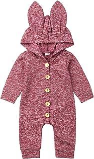 FJKR Infant Baby Girl Boy Tie Dye Clothes Hoodie Romper Zipper Bodysuit Long Sleeve Jumpsuit Cotton Onesie