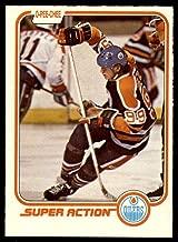 Hockey NHL 1981-82 O-Pee-Chee #125 Wayne Gretzky SA NM Oilers