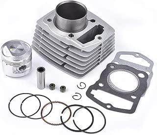 Cylinder Top End Rebuild Kit for CB125 CL125 XL125 SL125 4 Stroke OHC Engine Based Single Cylinder Motorcycle