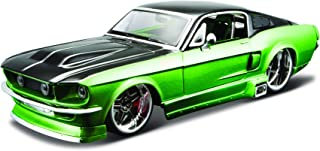 Maisto 1:24 Scale All Star Assembly Line 1967 Ford Mustang GT Diecast Model Kit - Colors May Vary
