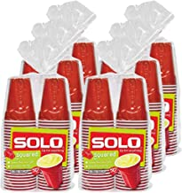 Solo Cup Red Plastic Party Cups, 9 Ounce, 300 Count