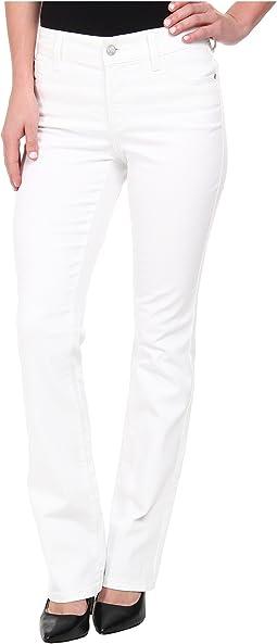 Billie Mini Boot in Optic White
