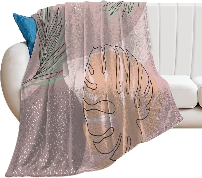 Blanket Palm Raleigh Mall Summer Pattern Custom Kansas City Mall Bla Throw Bedding Soft
