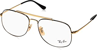 ca7b4dc7e18ac Ray-Ban RX6389 2946 55 The General Glasses in Black Gold RX6389 2946 55