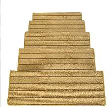 JIAJUAN Stair Carpet Treads Thicken Non-Slip Self Adhesive Indoor Outdoor Use Modern, 14mm, 4 Styles, 5 Sizes, Customizabl...