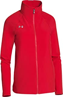 Under Armour Women's UA Squad Woven Full Zip (X-Large