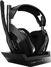 ASTRO Gaming A50 Casque sans fil + Station de Charge Gamer, 4ème Génération, Dolby, Équilibre entre Son des Jeux et Voix, ...