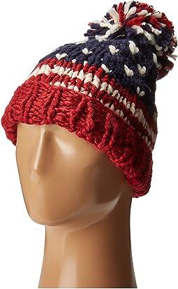 KNH3453 American Flag Beanie
